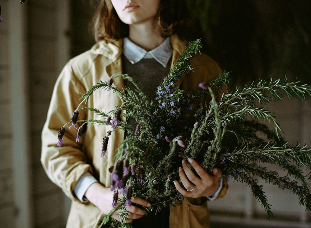 The Curated House: Kinfolk + The Lost Art of Drying Herbs