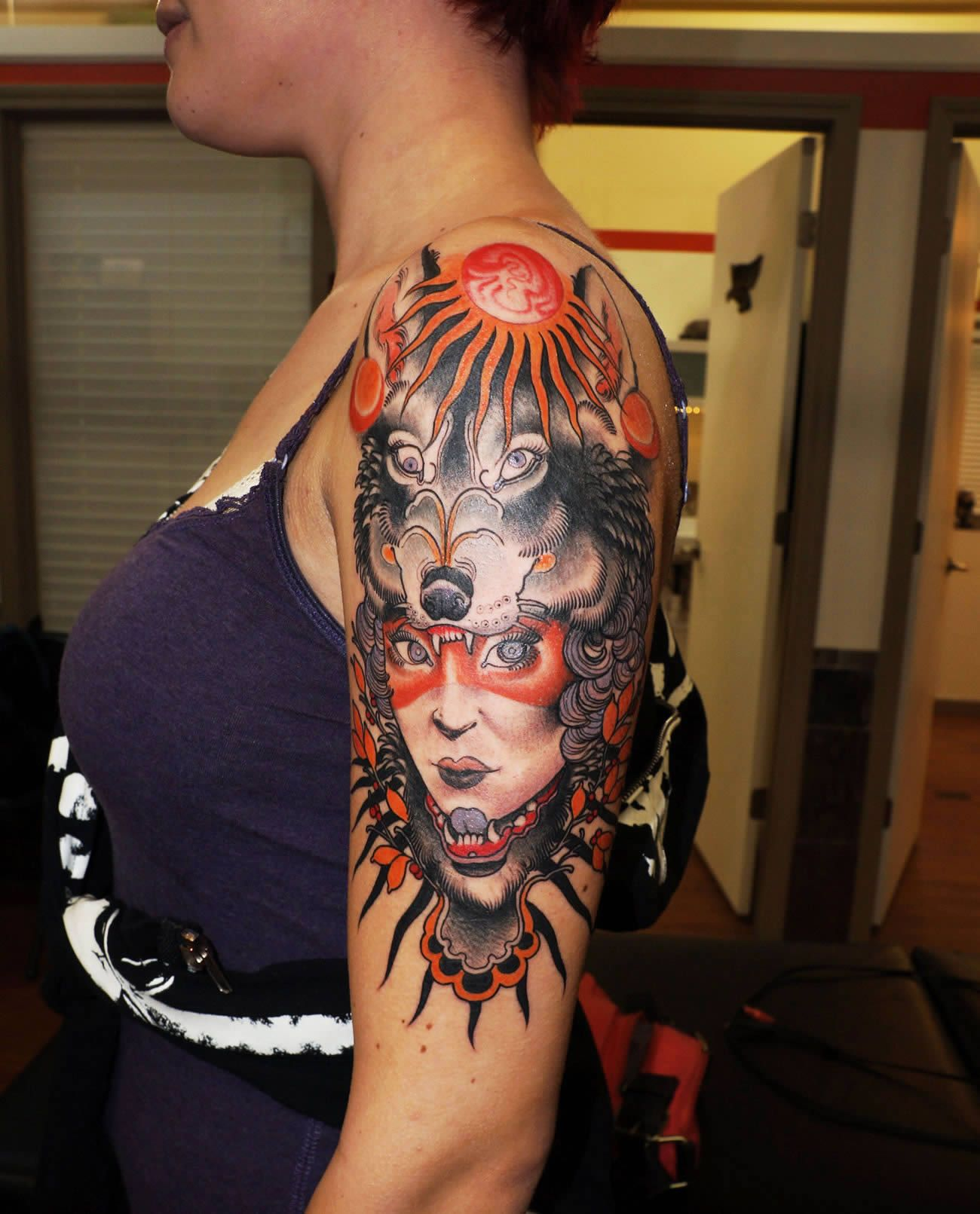 Color Tattoo By Matt From Black Sails Tattoo: Gorgeous Illustrative Tattoos