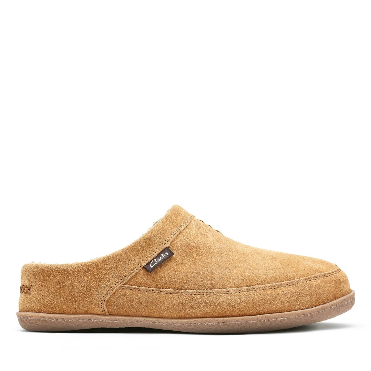 db58aa600a3 Clarks Tyree Porter - Mens Slippers Tan 8 | Products | Mens slippers ...