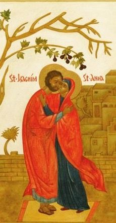 SAN JOAQUÍN Y SANTA ANA | Arte religioso, Iconos, San joaquin
