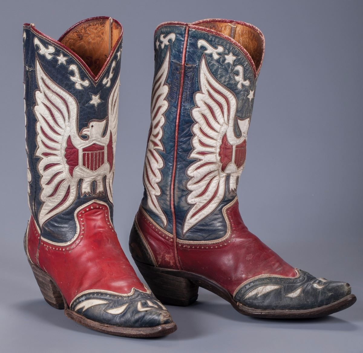 8014e580f32 Roy Rogers' Personal Eagle Boots | Western Cowboy Boots | Blue ...