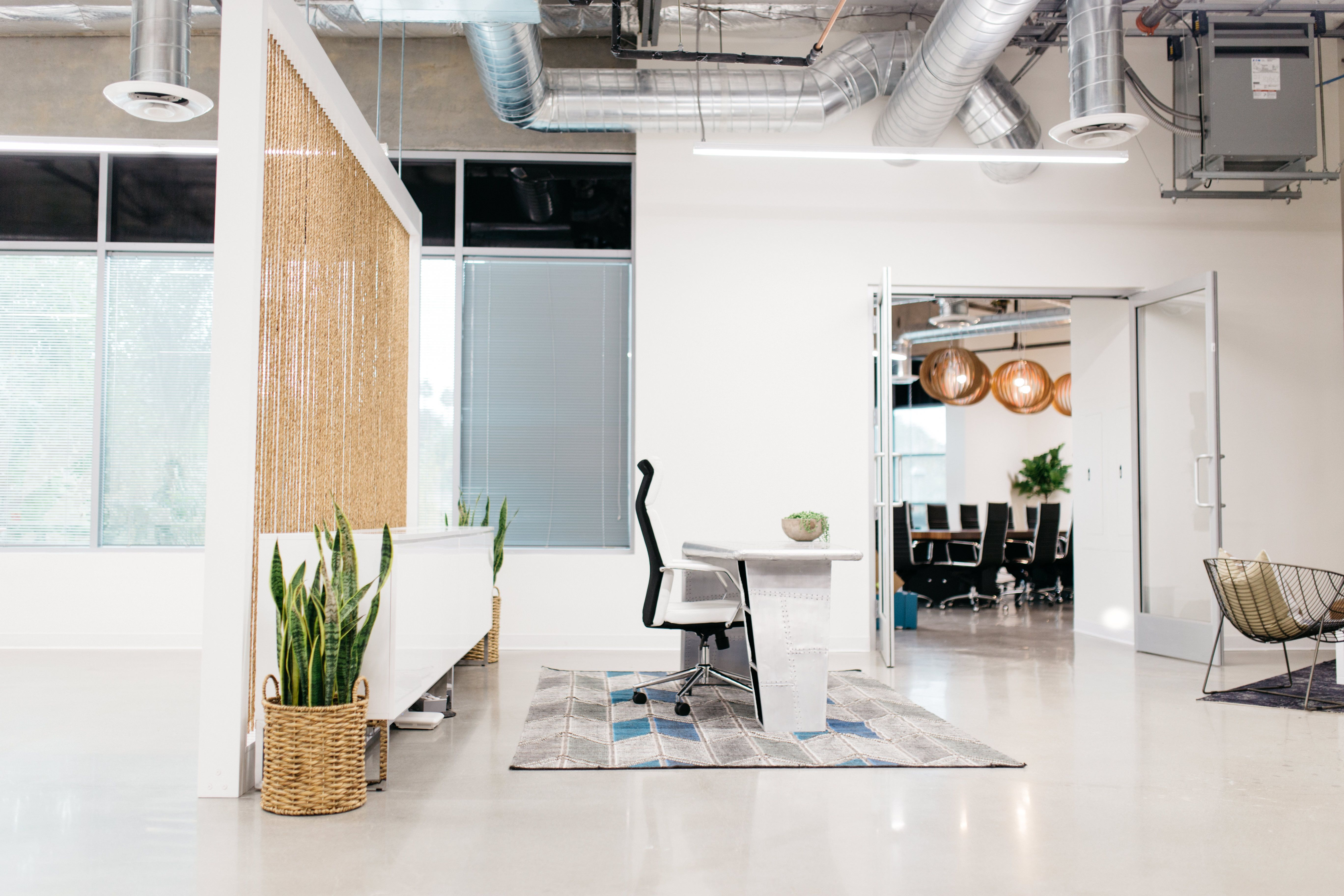 office divider walls. This Custom Rope Divider Wall Makes Such A Huge Difference In Minimal, Modern Office Walls