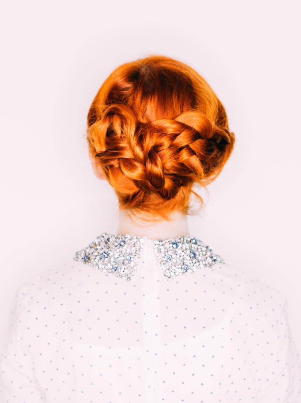 Simple Stunning Updo   Updo, Wedding hair tutorials and Simple weddings