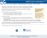 AAAS - Project 2061  Assessment ideas