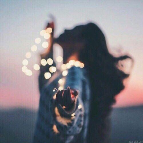 Light girl and tumblr image amazing pinterest - Tumblr lichterkette ...