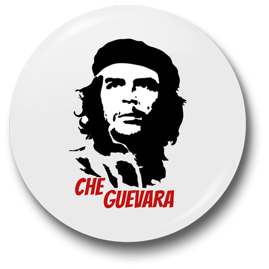 Che Guevara Badge - Just Stickers