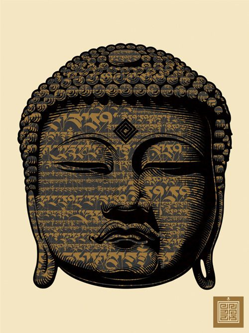 Image of #BUDDHA SCRIPT by Cryptik. #buddhist #art