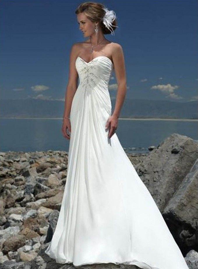 wedding BEACH dresses   bridal-romantic-beach-wedding-dresses