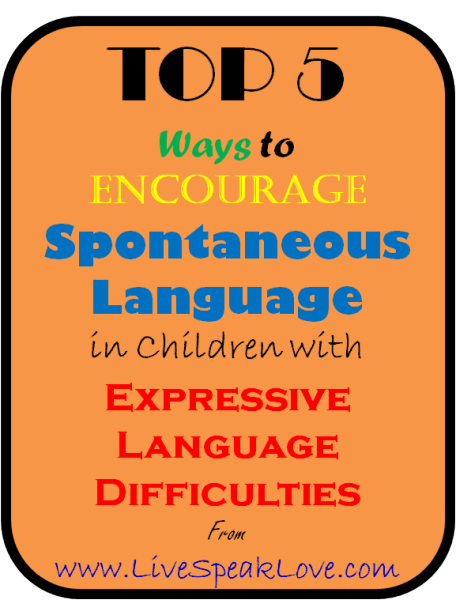 how to teach a child with expressive language disorder