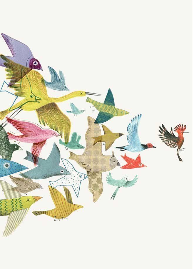 Konferenz der Vögel der Konferenz Vogel Vogel