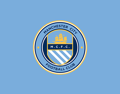 Manchester City Football Club Logo Concept Escudo