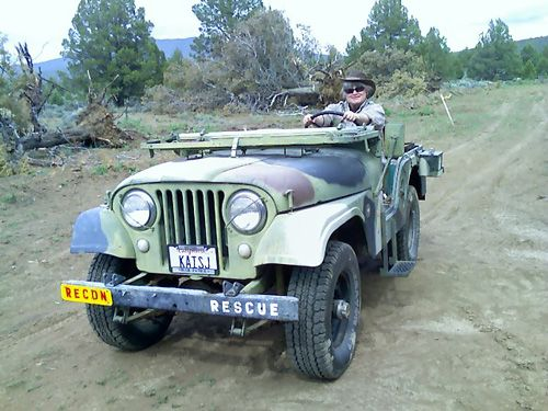 1965 CJ-5 U.S. Navy Fire Jeep - Photo submitted by Dave Thorne.