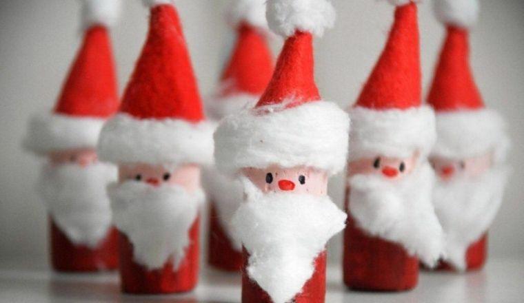 Bricolage de Noël facile : 13 idées avec bouchon liège | Bricolage