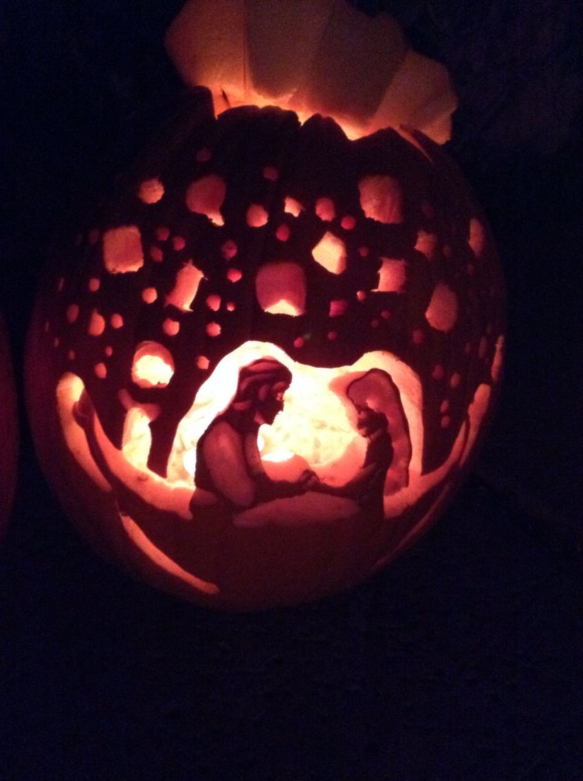 Tangled Pumpkin Carving And At Last I See The Light