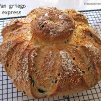 Pan Griego Express En Bolsa De Asar Con Thermomix Recetas Griegas Panaderías Comida