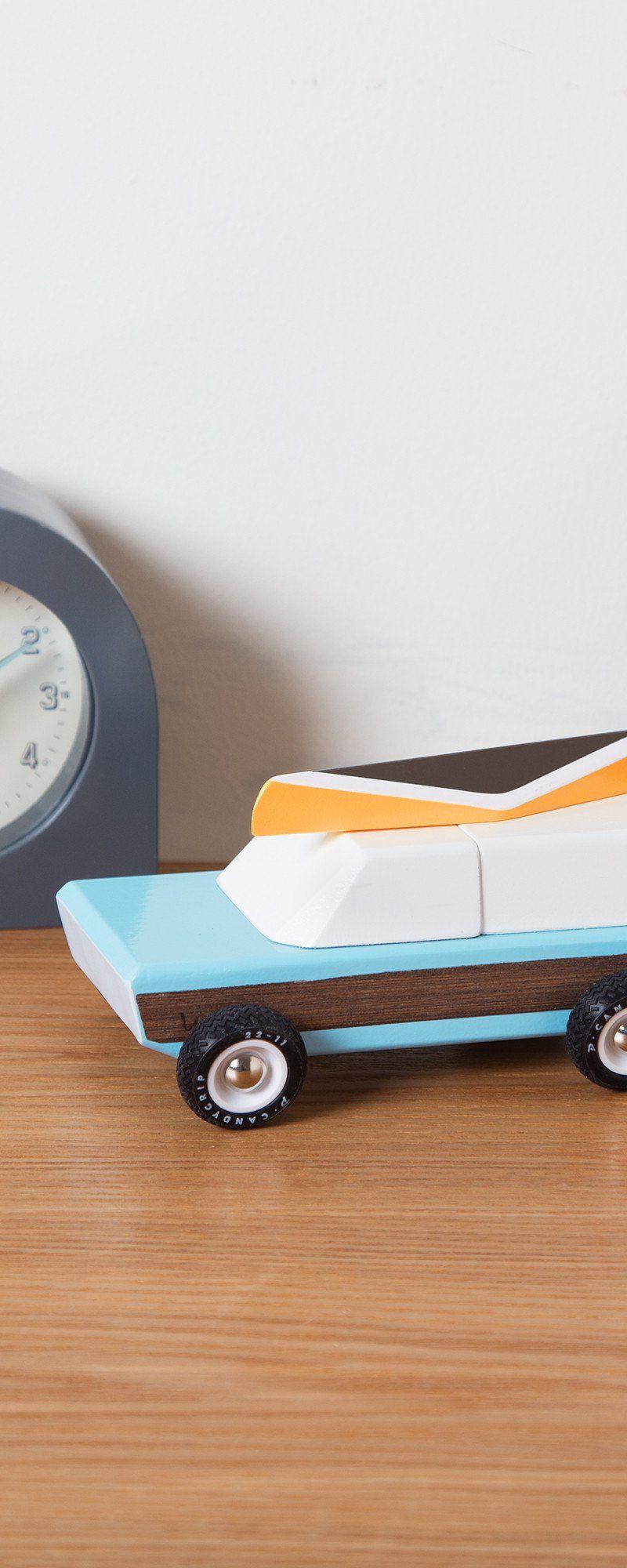 Little car toys  Vintage Model Camper by Candylab Toys  Little Kiddos  Pinterest