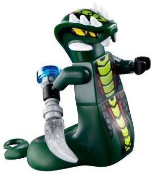 LEGO Ninjago - Minifigur Acidicus mit Schlangendolch