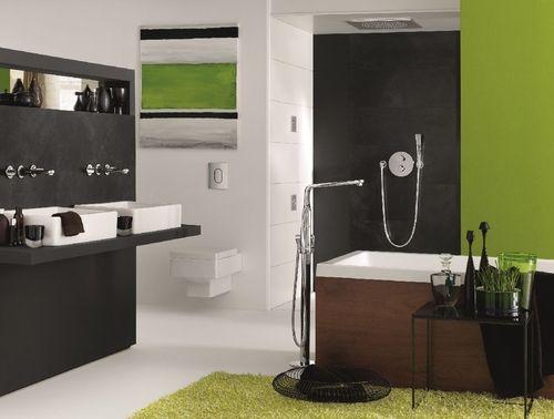 Łazienka na wskroś nowoczesna - Grohe Rapido T