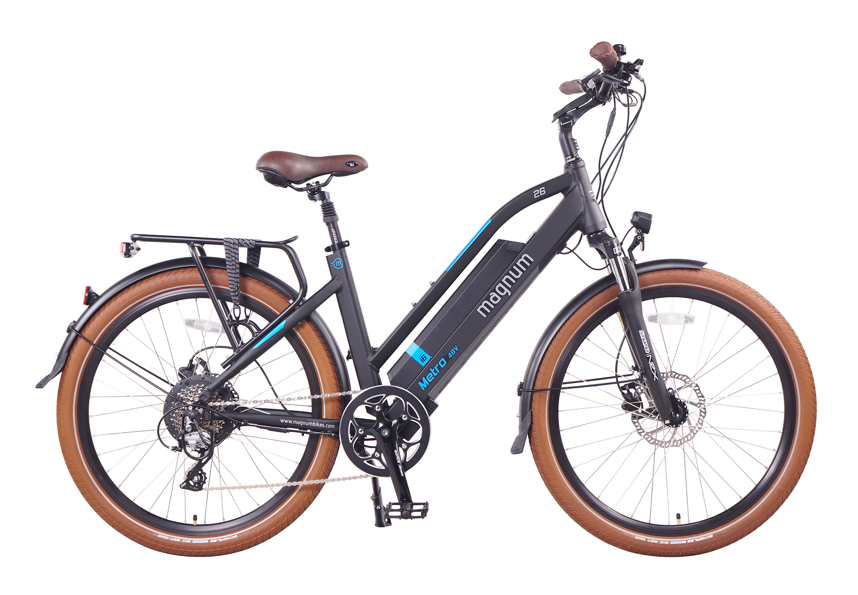 Magnum Electric Metro 2020 City Bike Electric Bicycle Electric Bike