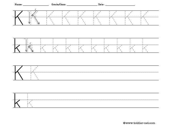 letter k worksheets bing images letter k letter k lettering worksheets. Black Bedroom Furniture Sets. Home Design Ideas
