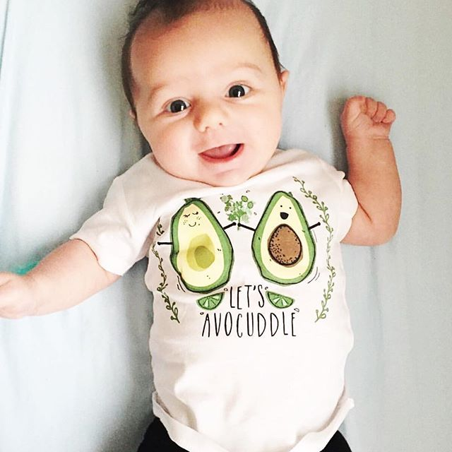 fb7880797448 Let s avocuddle baby onesie - The Pine Torch. Funny baby onesies ...