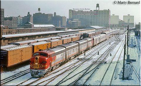 The American Railroads - The Santa Fe Super Chief