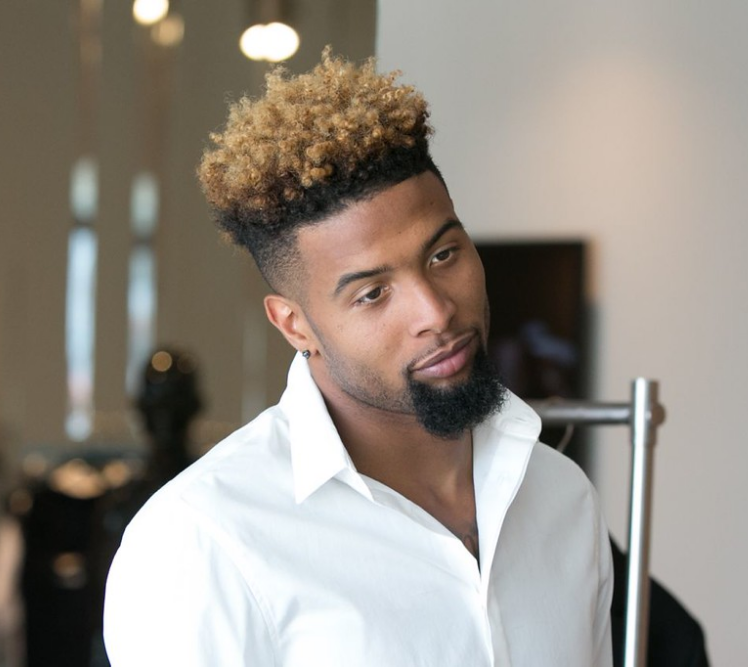 Odellbeckhamjr Is Beautiful Coupe Afro Homme Teinture Coiffure Homme Noir Cheveux Courts Coupe Afro Homme
