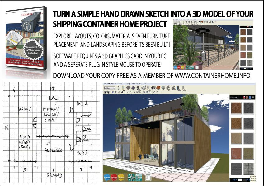 3d Isbu Shipping Container Home Design Software