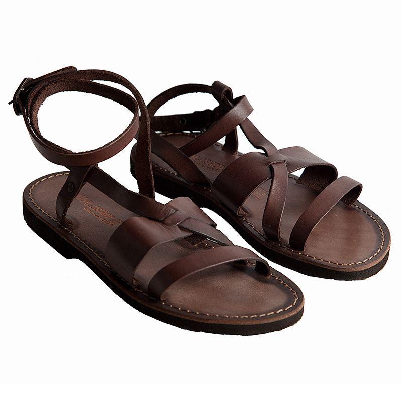 Sandalo greco sandali in pelle di cuoio sandali sandali
