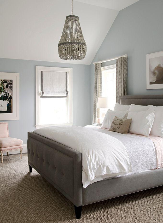 Wall Color Is Silver Gray Benjamin Moore