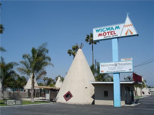 Wigwam Motel Rialto Ca United States Of America