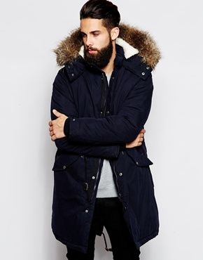 74faa560d04 ASOS Fishtail Parka With Thinsulate | Stuff to Buy in 2019 | Fashion ...