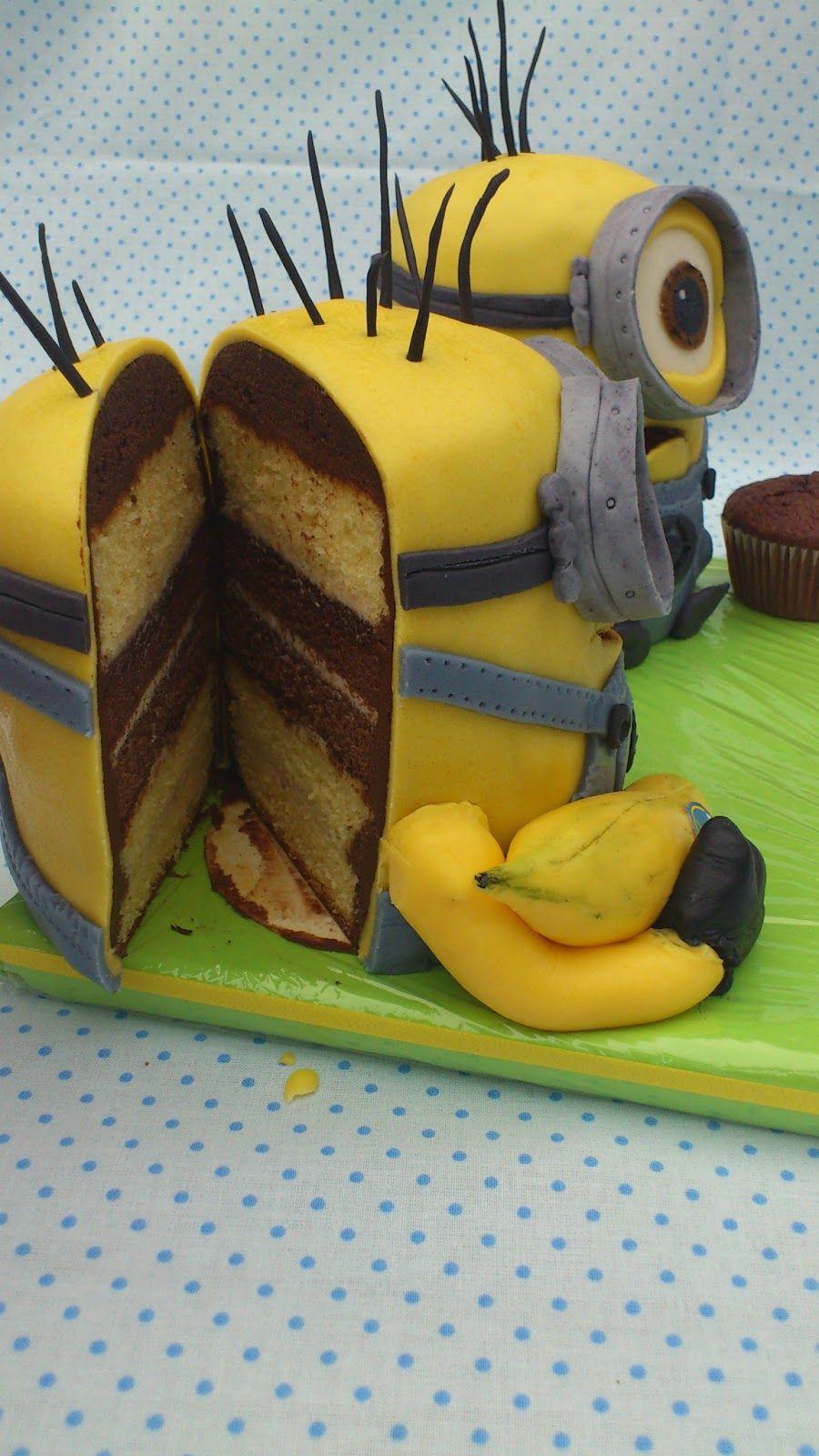 Süßes Sonst Wird S Herzhaft I Minions Kuchen Süßes