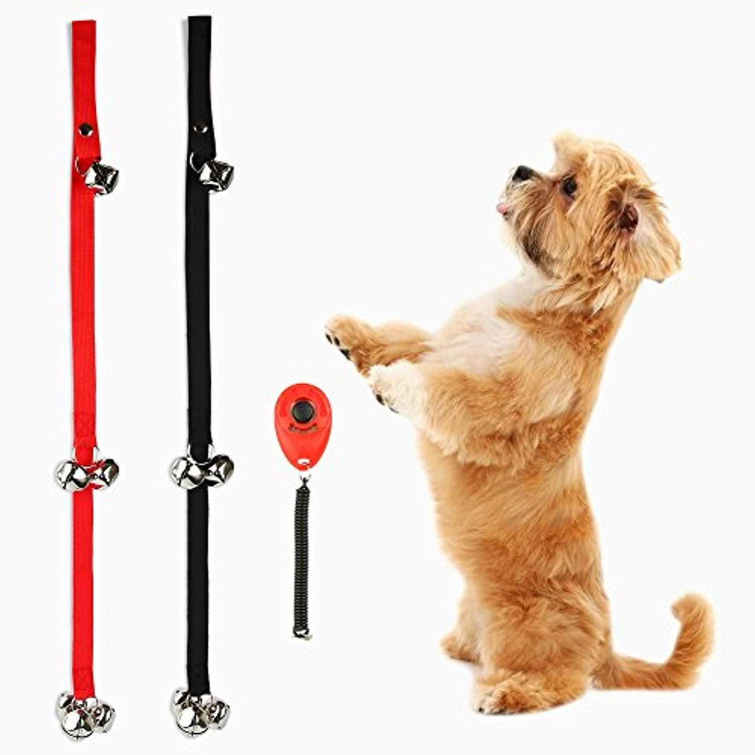 2 Pack Dog Doorbells For Dog Training And Housebreaking Your Doggy