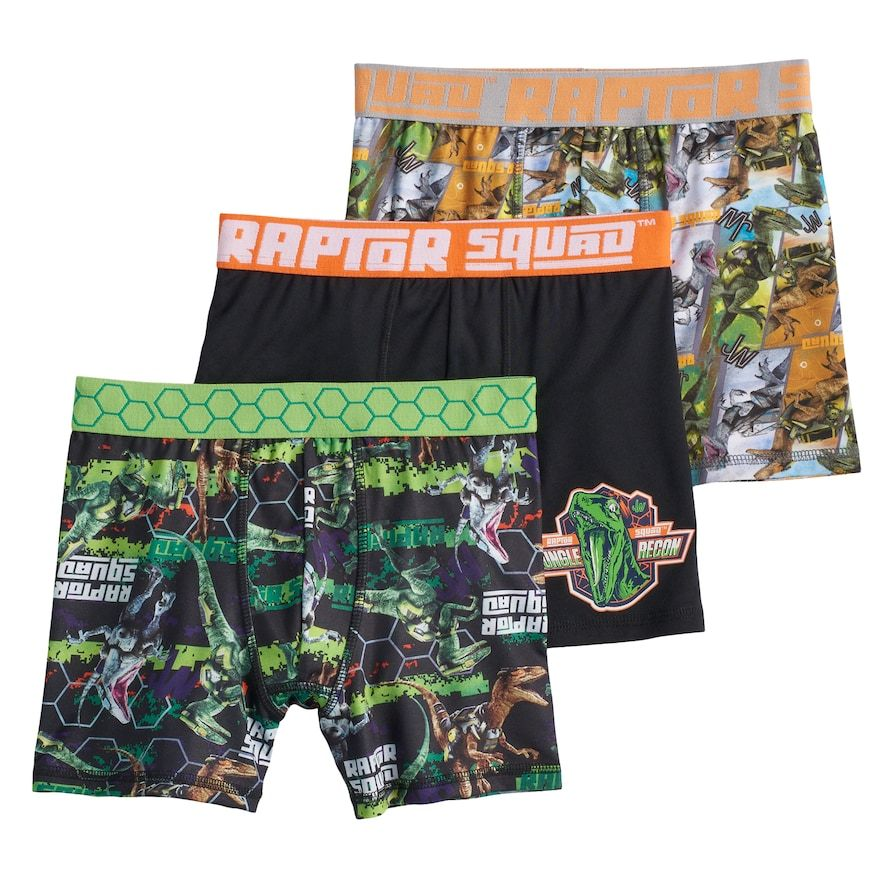f6c9a57e2f Boys 6-10 Jurassic World 3-Pack Boxer Briefs | Products | Jurassic ...