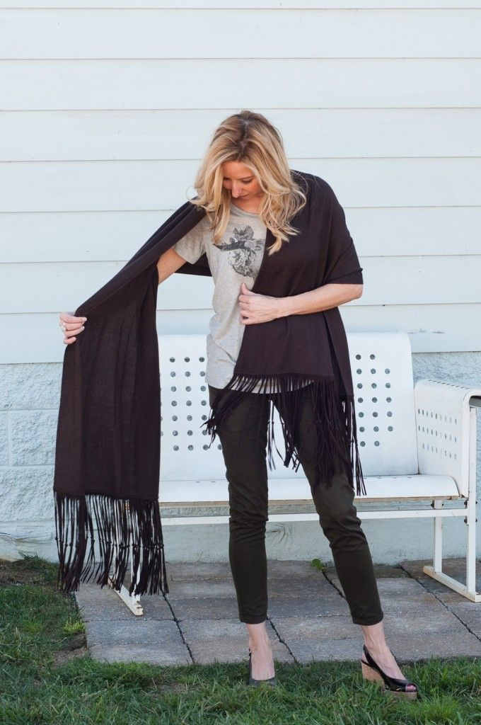 How To Wear A Pashmina