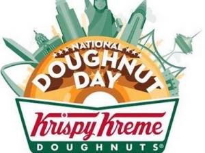 Krispy Kreme Free Doughnut On June 7th Krispy Kreme Krispy Kreme Doughnut National Donut Day