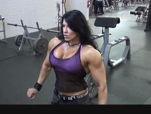 i love female muscle