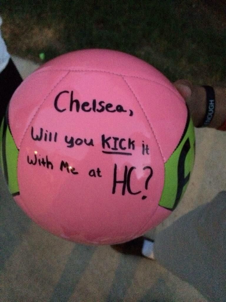 Soccer Prom Proposal  Google Search