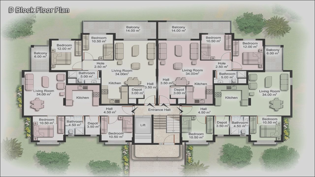 16 Expensive Luxury Apartment Design Plan Gallery In 2020 Apartment Floor Plans Apartment Building Modern Floor Plans