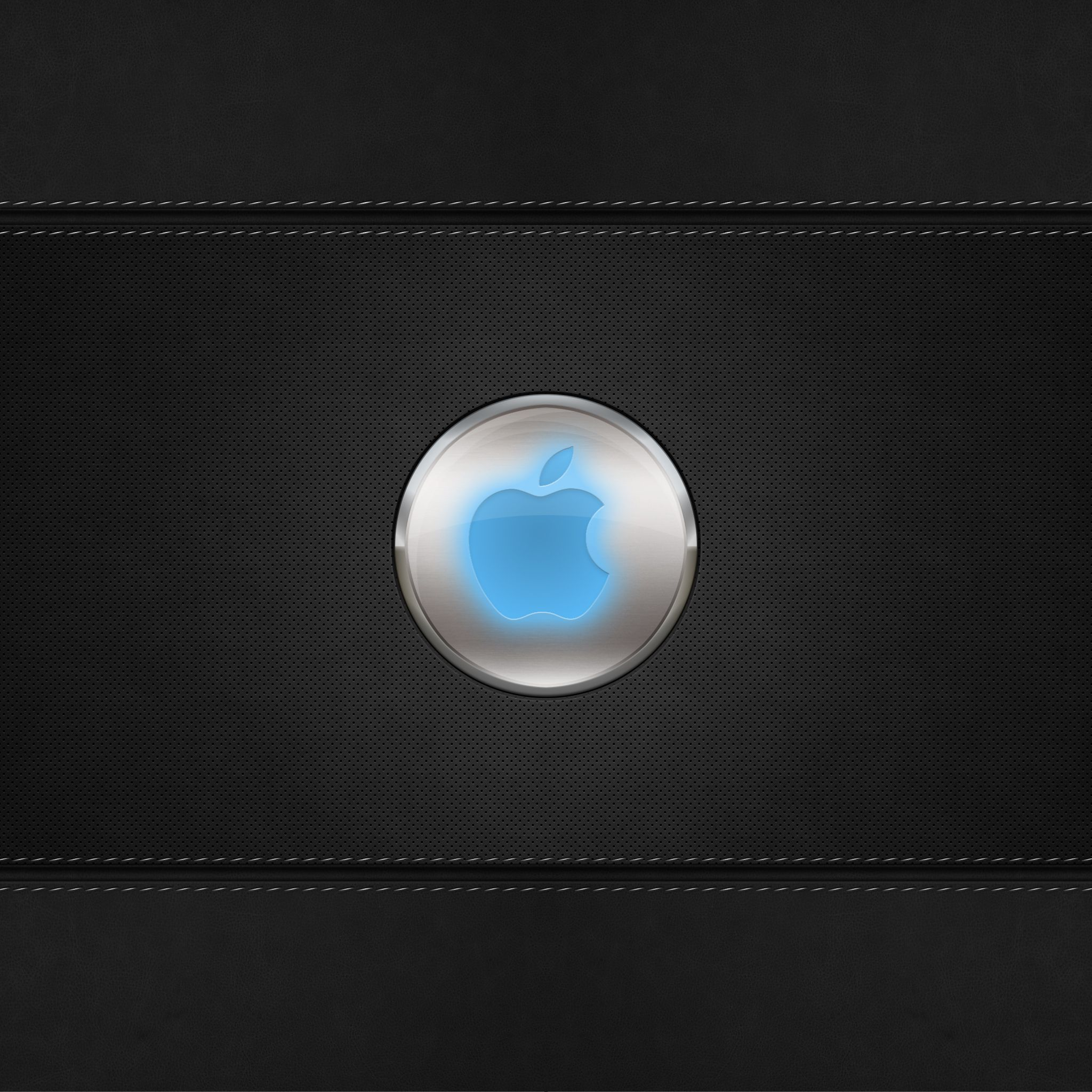 Wallpaper download for iphone - Blue Glow Apple Logo Ipad Air Wallpaper Download Iphone