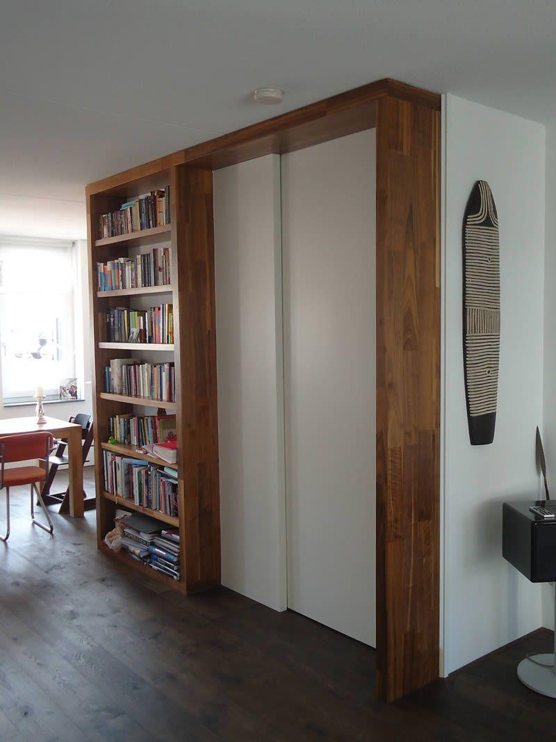 Trapkast | Boekenkast rondom open trap in woonkamer Utrecht Leidsche ...