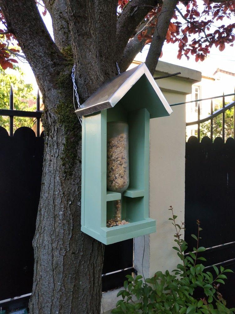 Mangeoire à oiseaux faite main Mangeoire oiseau