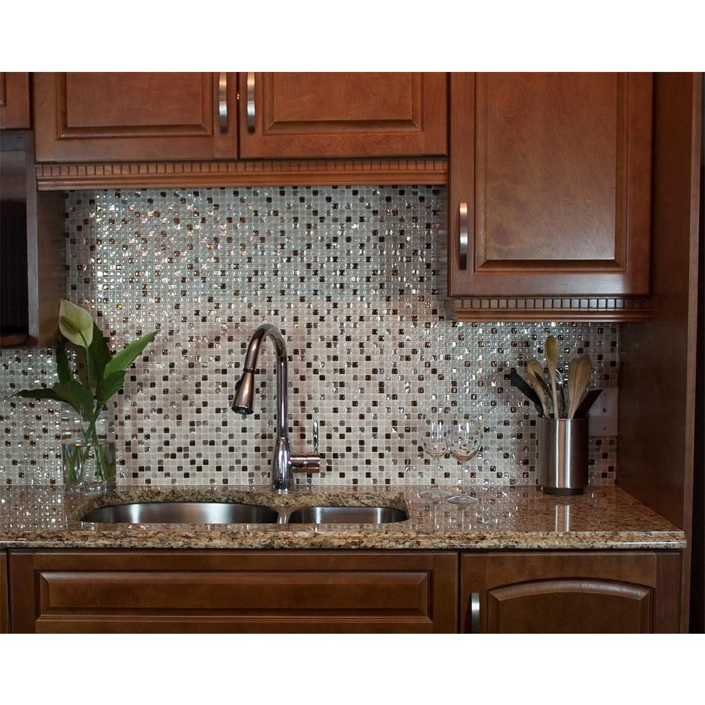 Minimo cantera 1155 in w x 964 in h peel and stick decorative smart tiles minimo cantera 1155 in w x 964 in h peel and stick self adhesive decorative mosaic wall tile backsplash 6 pack sm1068 6 the home depot dailygadgetfo Gallery