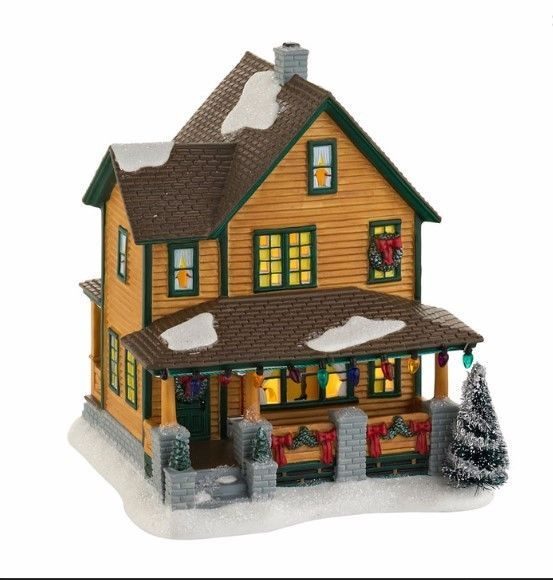 a christmas story dept 56 village ralphies house 4029245 new in sealed box - A Christmas Story Decorations