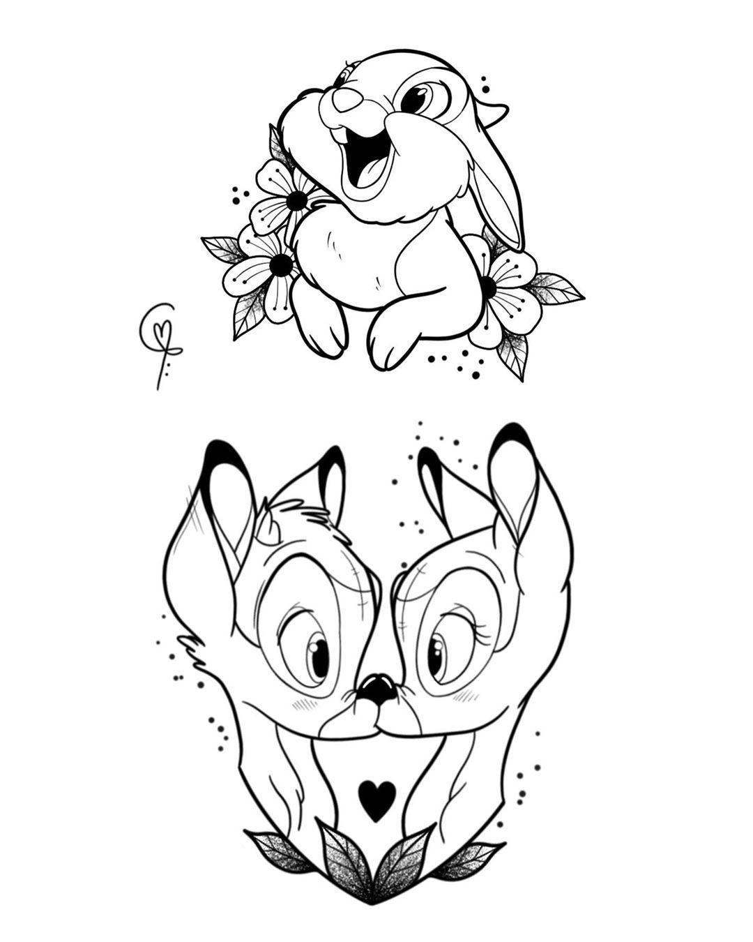 "Je N Ai Pas Pu : Camomille, Instagram:, ""je, M'empêcher, Faire, Quand, Même, Petite, Planche, Bambi, Bambi…, Disney, Tattoos,, Drawings,, Drawings"