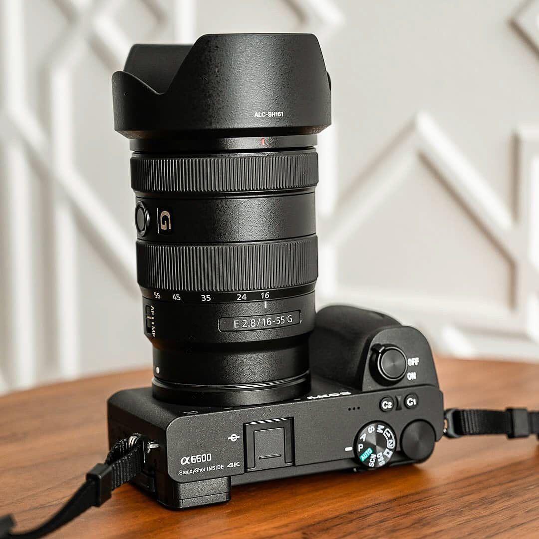 Sony Alpha 𝞪6600 Sony E 1655mm f/2.8 𝗚 !!! / Meet a brand