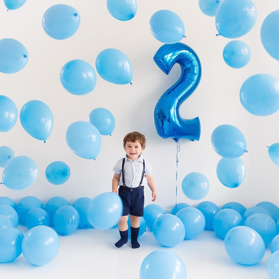 See More Via Instagram Annawithlove Balloons 2nd Birthday Birthday Ideas Birthday Photoshoot Boy Birthday Pictures Birthday Photoshoot 2nd Birthday Boys