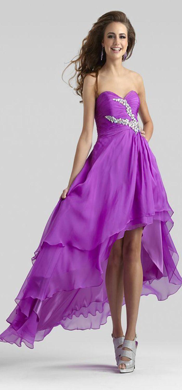 Prom Gown 2307 by Clarisse | Vestidos fiestas, Lilas y Vestiditos