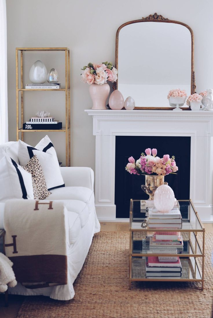 Elegant Spring Home Tour And Easter Decor 2019 Zimmerdekoration - Frühling Deko Kamin